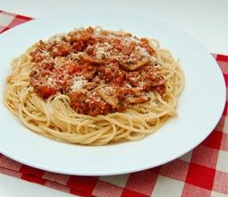 Easy Spaghetti Bolognese for One | Meals, Side Dishes, and Snacks | P ...