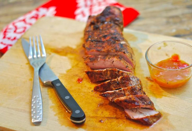 Mango Ginger Chutney glaze makes for a sweet-spicy finish on this Pork ...