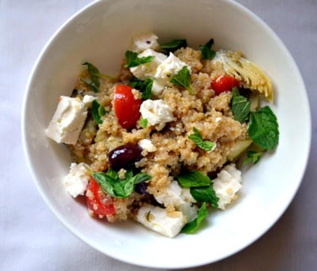 Greek Infused Quinoa Salad | Recipe