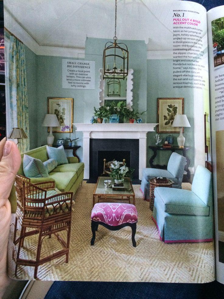 Blue green living room living room pinterest - Blue and green living room ...