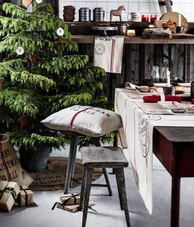H&M christmas decor