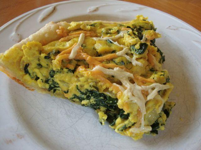 vegan quiche (cashew cream & tofu) | Food! - Vegan | Pinterest