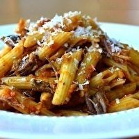 Penne with Braised Short Ribs   Food   Pinterest