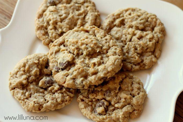 Oatmeal Raisinets Coconut Cookies | Recipe