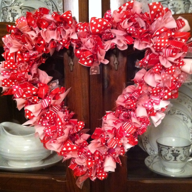 valentine day door decorations