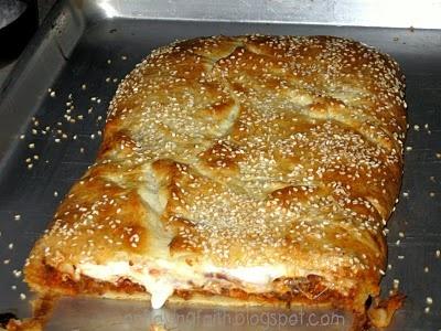 Crafty Crescent Lasagna | FoodFOODfood | Pinterest