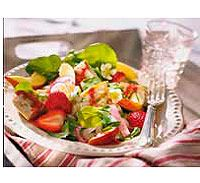 Grilled Chicken Salad with Strawberry-Balsamic Dressing | Recipe