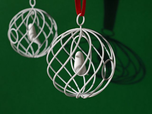 This is a graphic of Intrepid 3d Print Christmas Ornaments