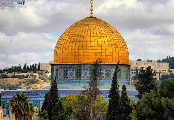 Dome of the rock architecture