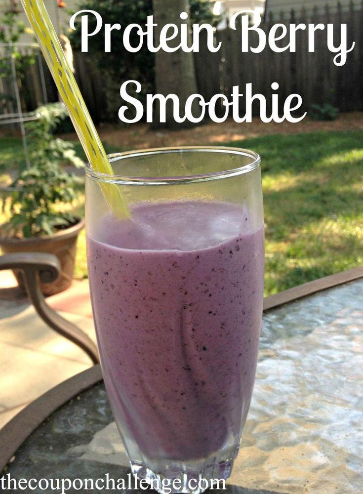 Protein, Kale & Berry Smoothie – Whey Protein Smoothie Recipes