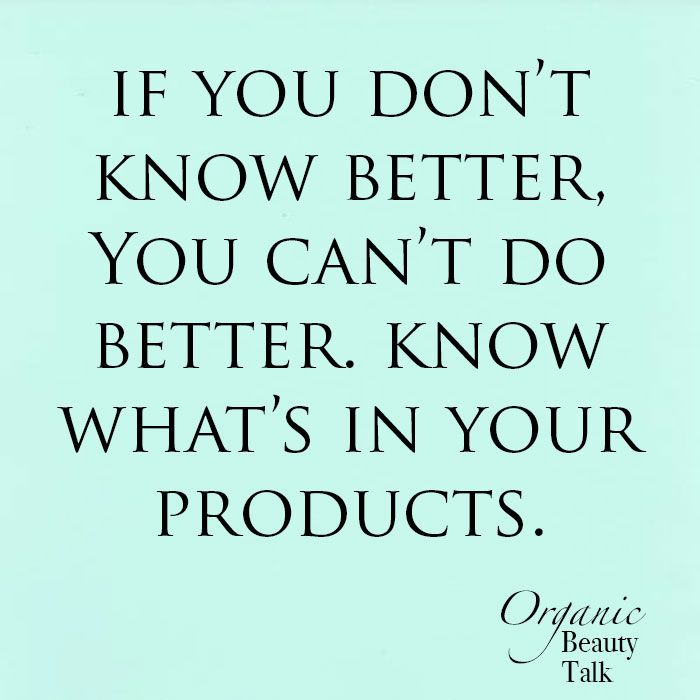 Pin by Organic Beauty Talk on Quotes