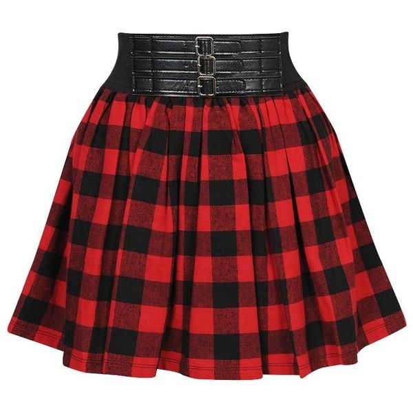 A plaid skirt Deem