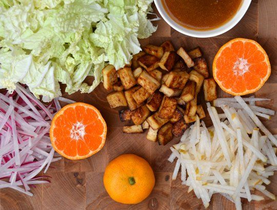 Napa Cabbage and Tofu Salad   Recipe