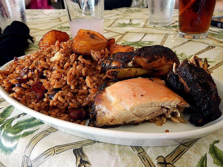 Jerk chicken at jiallo 39 s african caribbean cuisine 4202 w for Afro caribbean cuisine