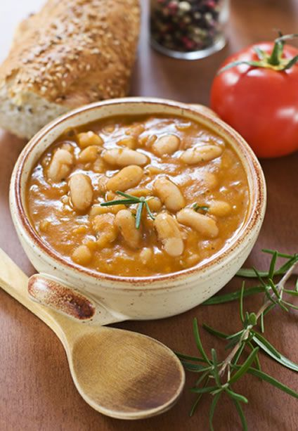 Slow Cooker Barbecue Baked Beans Recipe | Easy Crockpot Recipes