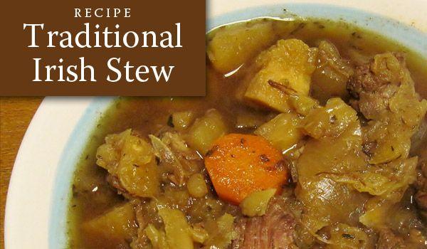 Traditional Irish Stew Recipe | Recipe: Traditional Irish Stew for St ...