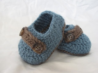 Crochet Pattern Baby Boy Loafers : Crochet baby boy loafers- pattern For Kids I Dont Have ...