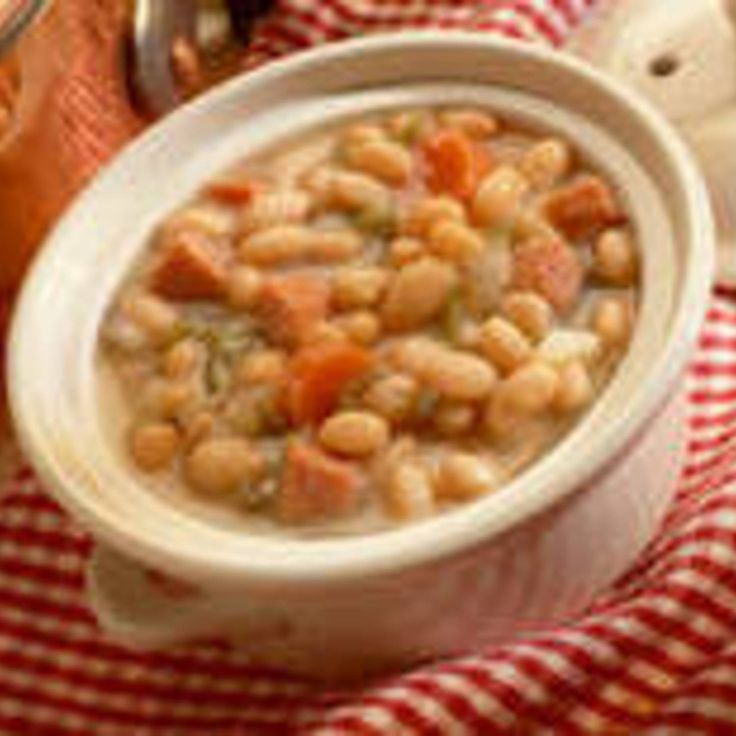Ham and Bean Soup | yummy | Pinterest
