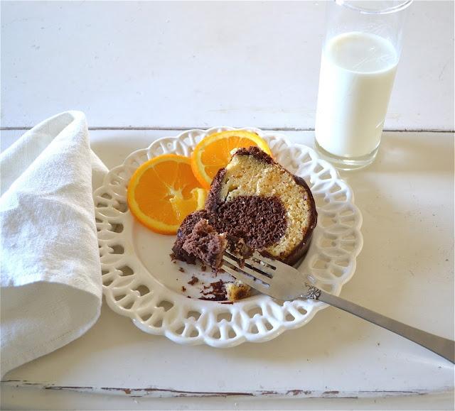 Chocolate Orange Bundt Cake | Bundt cakes | Pinterest