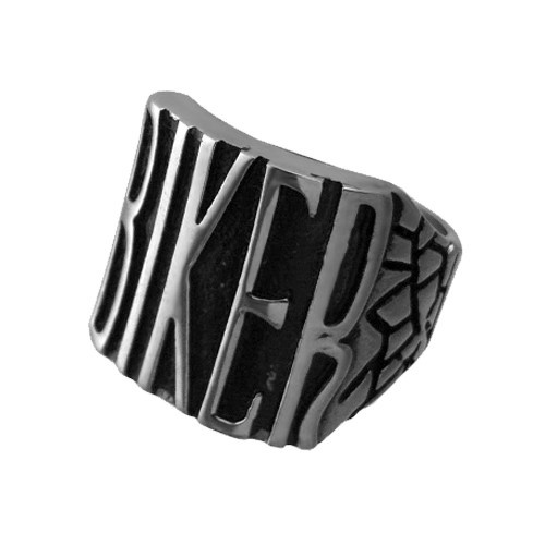 Stainless Steel Biker Ring in just $14.95