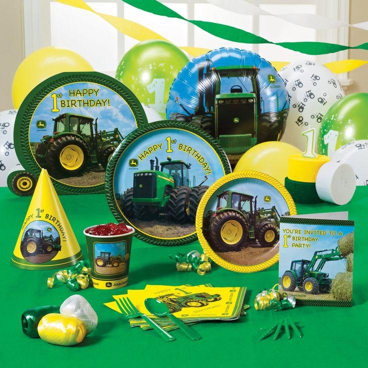 John Deere Birthday John Deer Party Farm Pinterest