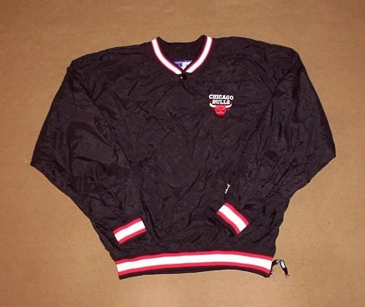 chicago bulls pullover jacket basketball starter xx large. Black Bedroom Furniture Sets. Home Design Ideas