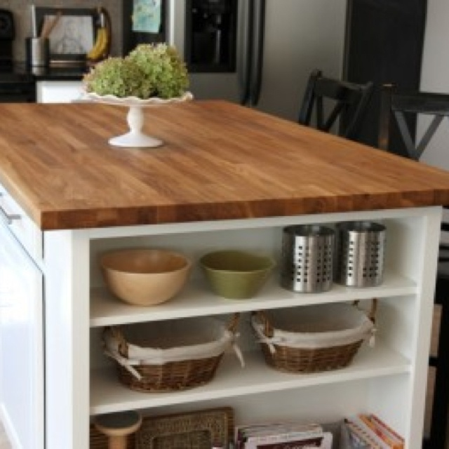 Diy kitchen island extension http www for Building a kitchen extension ideas