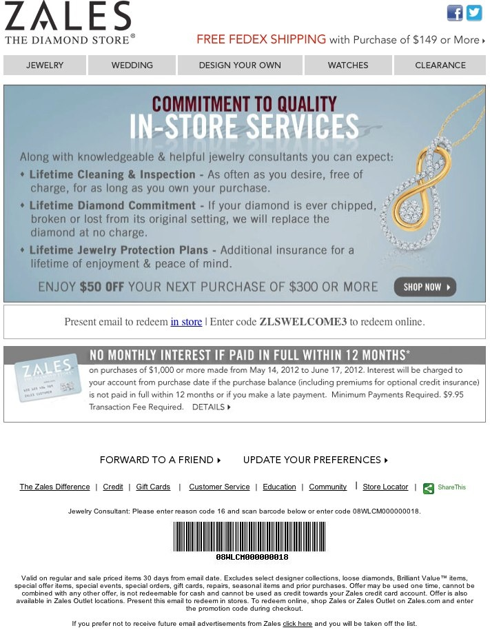 Zales discount coupons