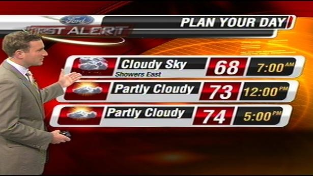Ford First Alert Forecast for Friday, August 17