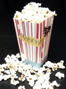 Olive Oil Pop Corn! No preservatives or artificial flavors...