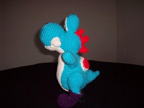 Knitting Pattern Yoshi : Free-Amigurumi-Yoshi-Pattern-2 Knit and Crochet Pinterest