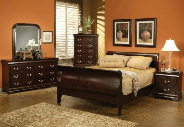 Orange and brown bedroom audrey 39 s room pinterest for Brown and orange bedroom ideas