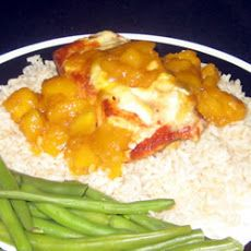 Salmon with Mango and Brie | Healthy | Pinterest