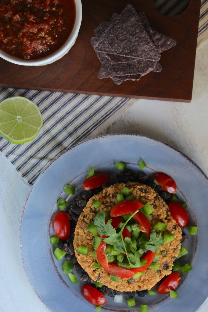 Fajita Burger and The Burger Book | an all gluten-free veggie burger ...