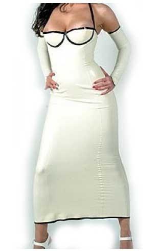 Latex Maxi Dress