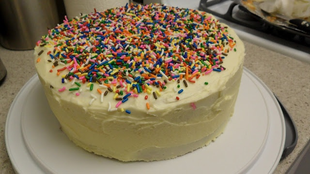 Versatile Vanilla Cake with Buttercream Icing
