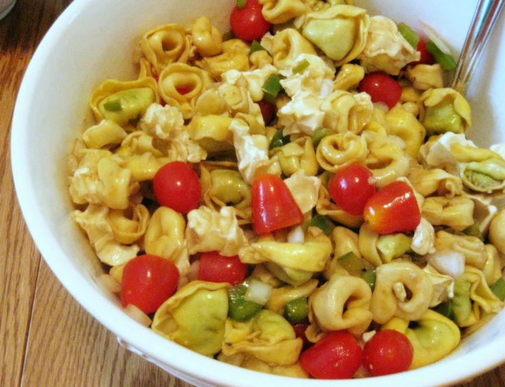 Mom's Tortellini Salad | Summer Salads :) | Pinterest