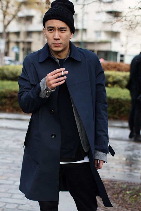 On The Street…. Men's Fashion Today, Milan & Paris