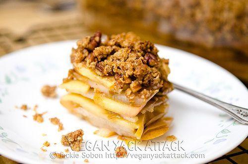 Apple Pear Crisp by Vegan Yack Attack. | Pie In the Sky Pie | Pintere ...