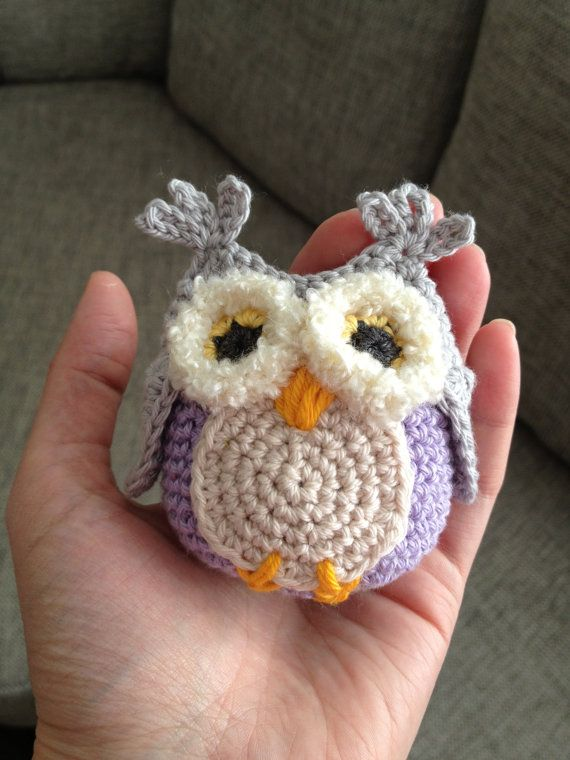 Crochet Owl : Crochet baby buggy owls crochet mobile by UgglaLand on Etsy
