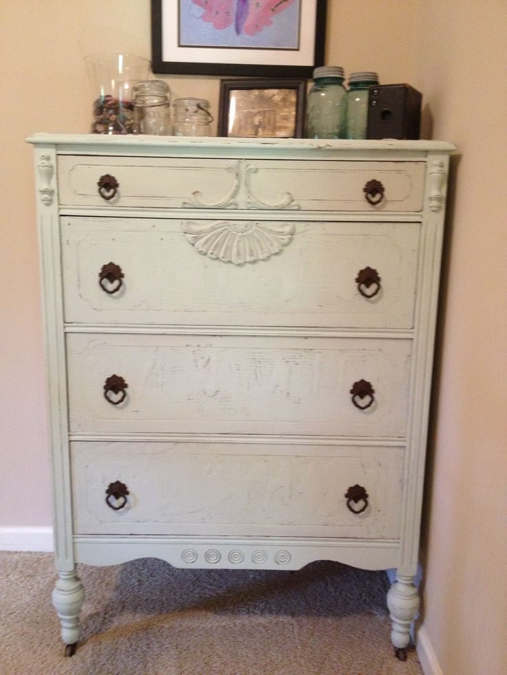 Chalk painted furniture ideas pinterest for Pinterest painted furniture