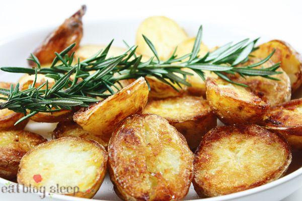 crispy roast potatoes | food - something savory | Pinterest