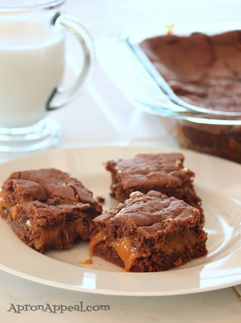 Apron Appeal: Knock You Naked Brownies | Bars | Pinterest