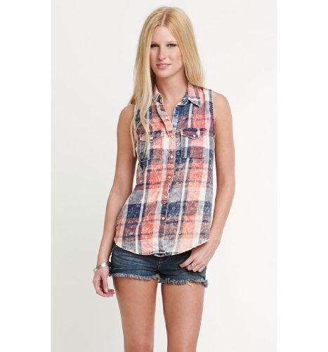 Nollie Womens Western Plaid Shirt $29.5 #Tops #Apparel #NOLLIE