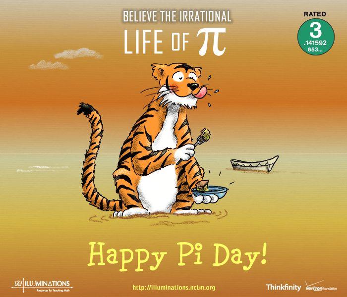 Pi Day pin