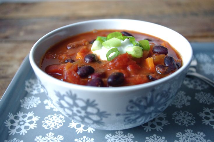 Half-Hour Veggie Chili | Food and Recipes | Pinterest