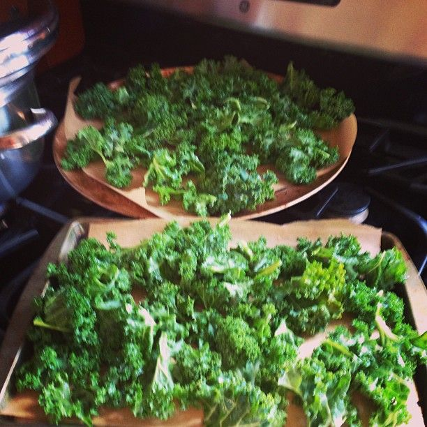 Kale Chips! Never left overs... | IN tHe KitCHen WiTh PaleoBOSS Lady ...