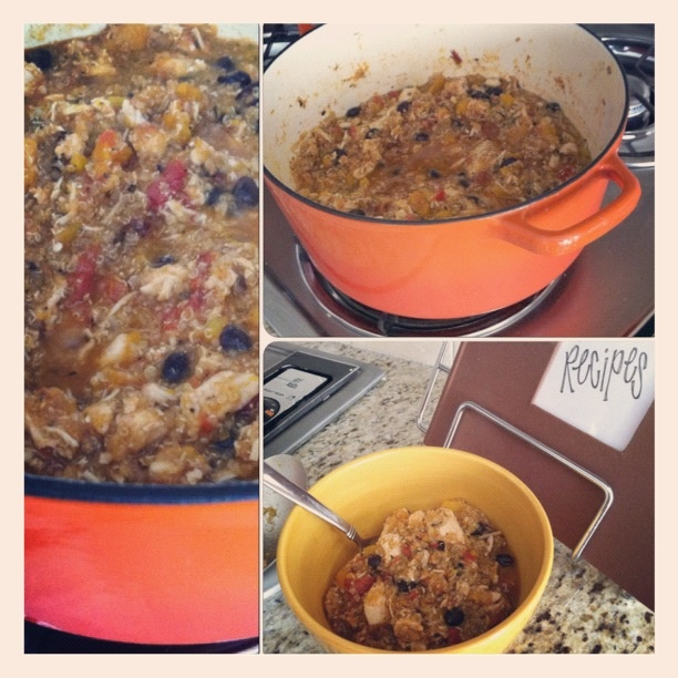 ... Nest: Butternut Squash, Quinoa, & Black Bean Chicken Stew - RECIPE