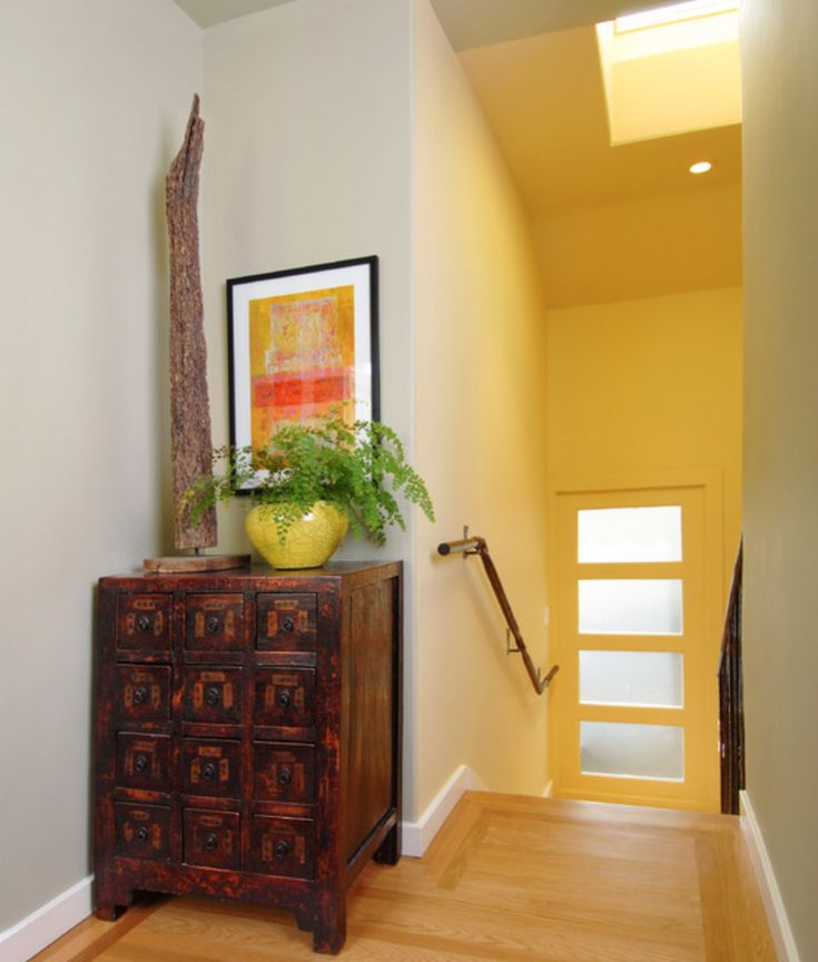 Pin by feifan zeng on room renovation pinterest Bright yellow wall paint
