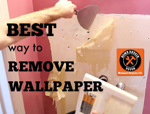 best way to remove wallpaper diy pinterest